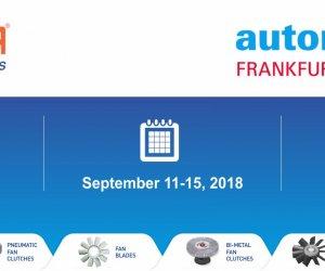 Automechanika Frankfurt 11-15 Eylül 2018