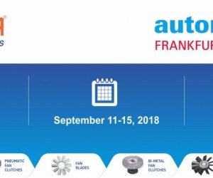 Automechanike Frankfurt 2018 Fuarı'na Katıldık